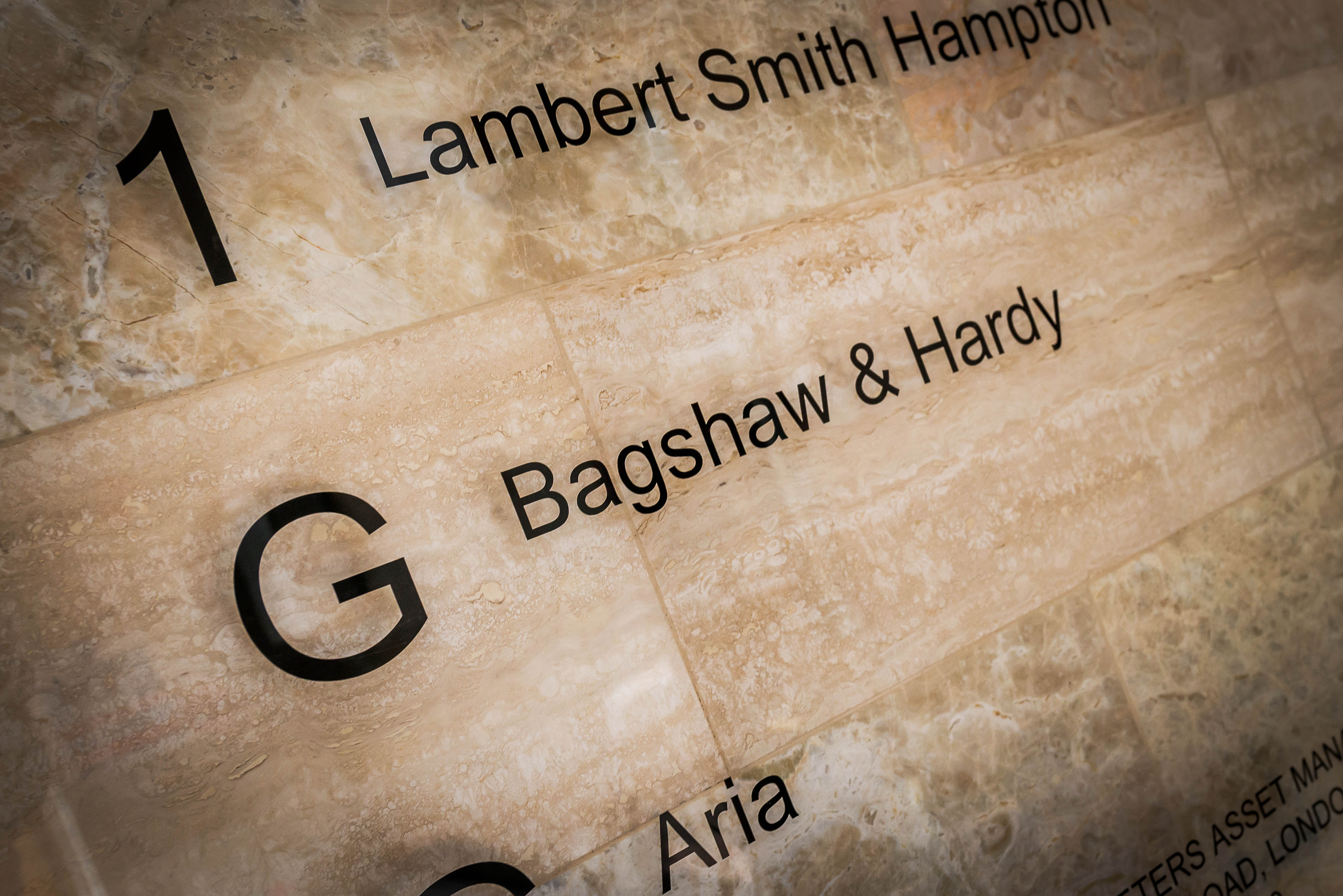 Bagshaw & Hardy open the doors to their new office.